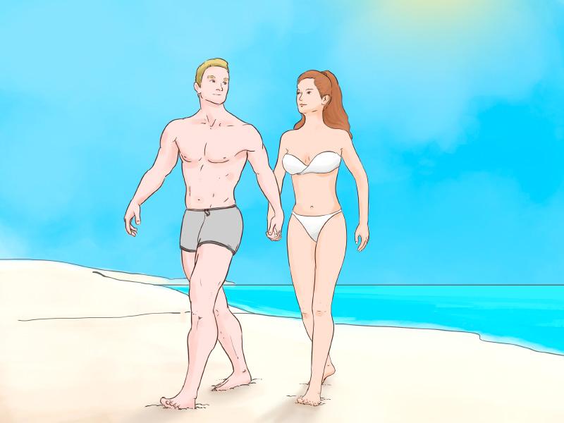 Felix Ostermann mit seiner Freundin