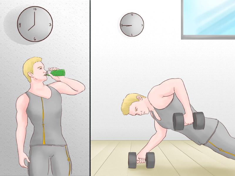 Workout Booster 45 Minuten vor Training einnehmen